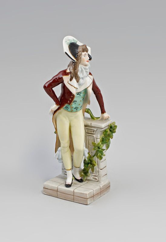 Porzellan-Figur Kavalier Galanter Herr Dandy Scheibe-Alsbach 99840098