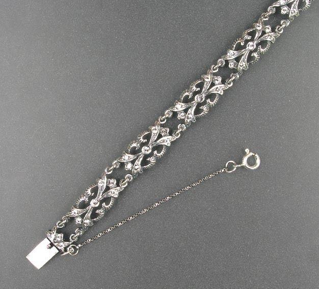 925er Silber Armband mit Swarovski-Steinen 9901068