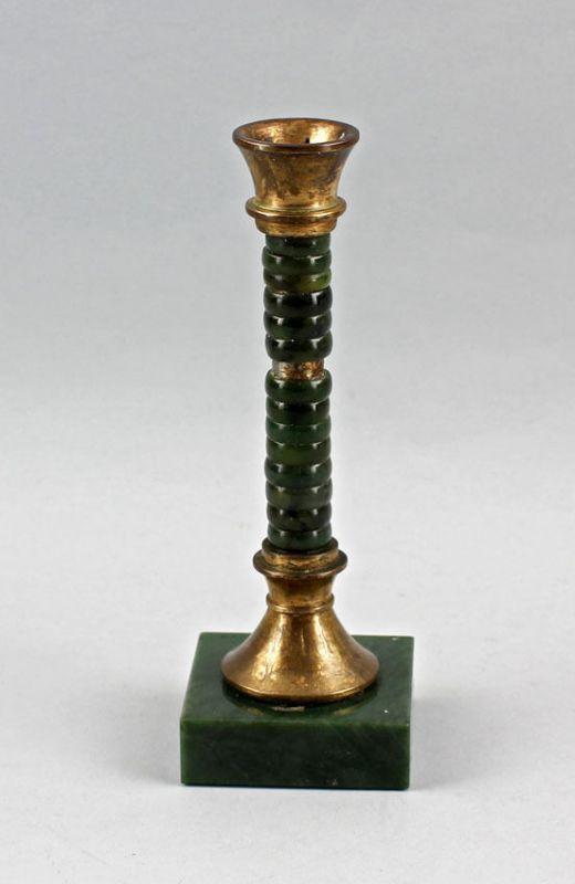 Grüner Kerzen - Leuchter H 20 cm 99833040
