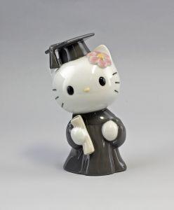 Porzellan Hello Kitty bei der Abschlussfeier Nao Lladro Spanien 9956051