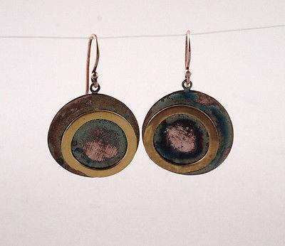Ohrringe 925er Silber geometrische Kreise D 2,5 cm 9903008/99825358
