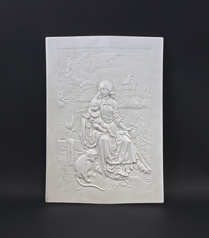 Relief Maria mit der Meerkatze nach A.Dürer 99840171 0