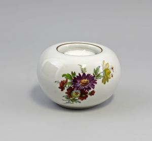 Teelicht Blumendekor  Kämmer Thüringen Porzellan 9988314