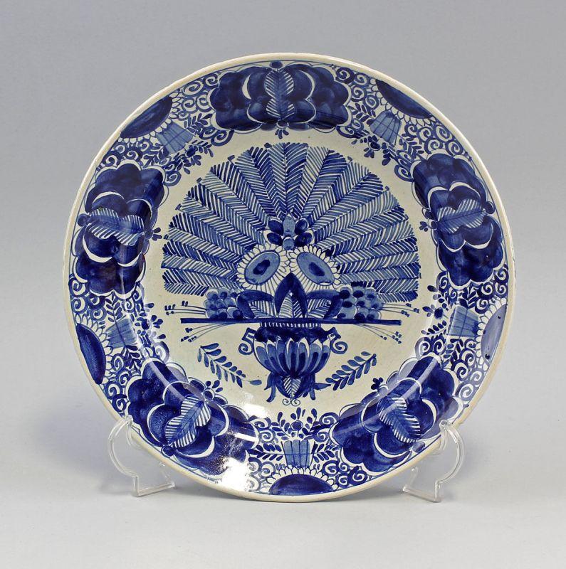 Keramik Große Schale Blaudekor 99845084