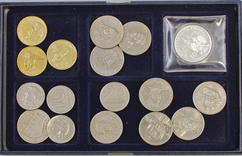 Konvolut 17 Münzen Polen 99808019