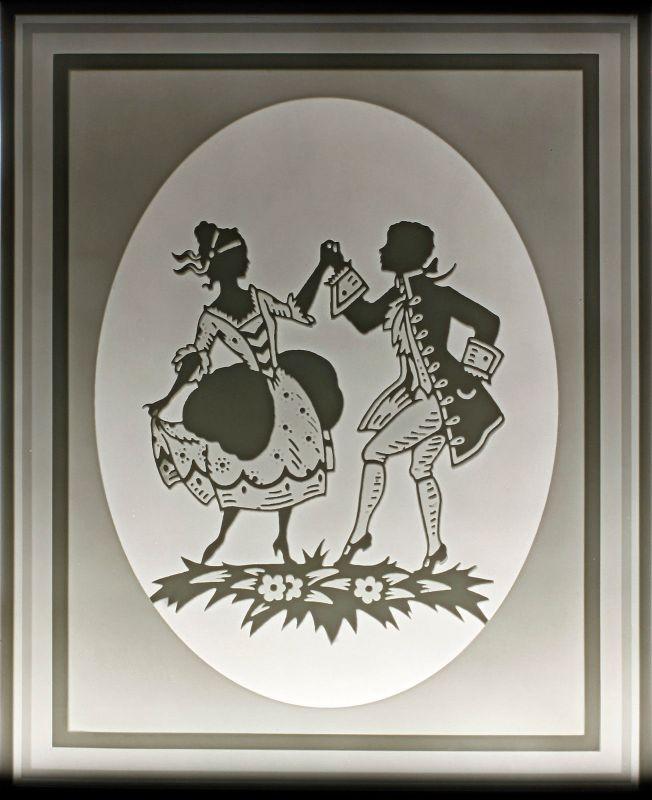 Lithophanie-Platte Plaue Schierholz 99840157
