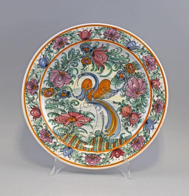 8145024 Keramik Teller Majolika Skyros Südeuropa