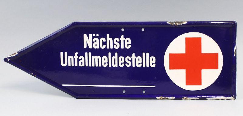 8175002 Emailschild Deutsches Rotes Kreuz