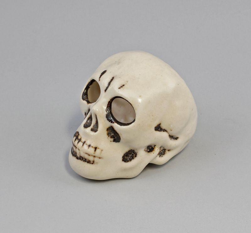 Keramik Toten-Schädel Totenkopf Aschenbecher 99845233