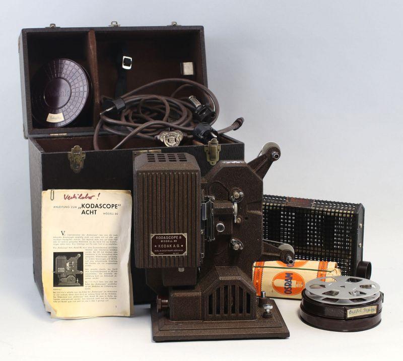 8170019 Filmprojektor Kodascope Acht Modell 80
