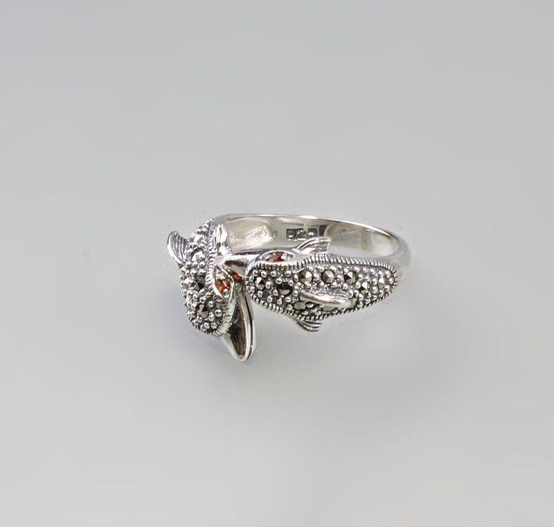 Markasit Ring Delphine 925er Silber 9927438
