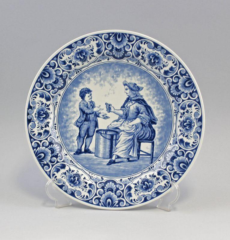Keramik Großer Teller Blaudekor 99845081