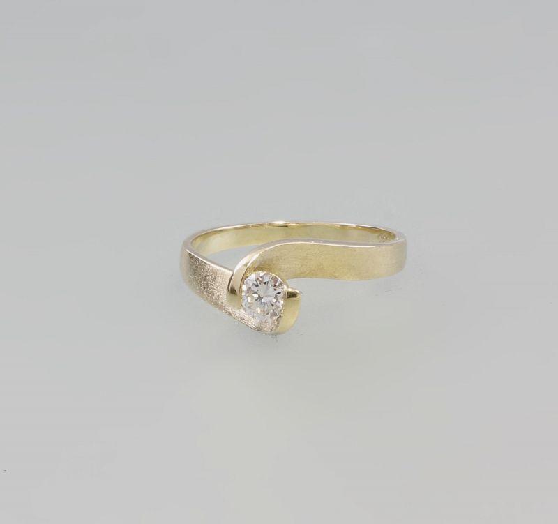 585er GG Brillant-Solitär-Ring 99825290