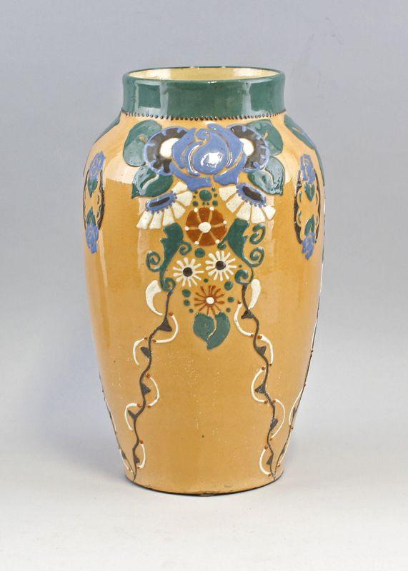 Keramik Vase Jugendstil Bürgel um 1900 99845031