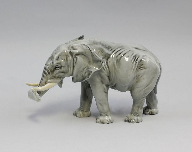 9941307# Porzellan Figur Ens Elefant 20x9x11cm