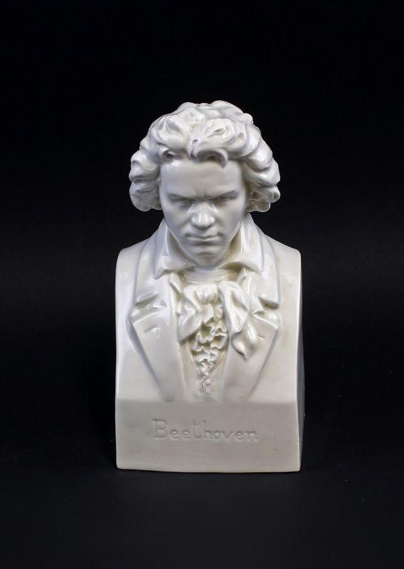 99840451 Büste Beethoven Goebel H20cm