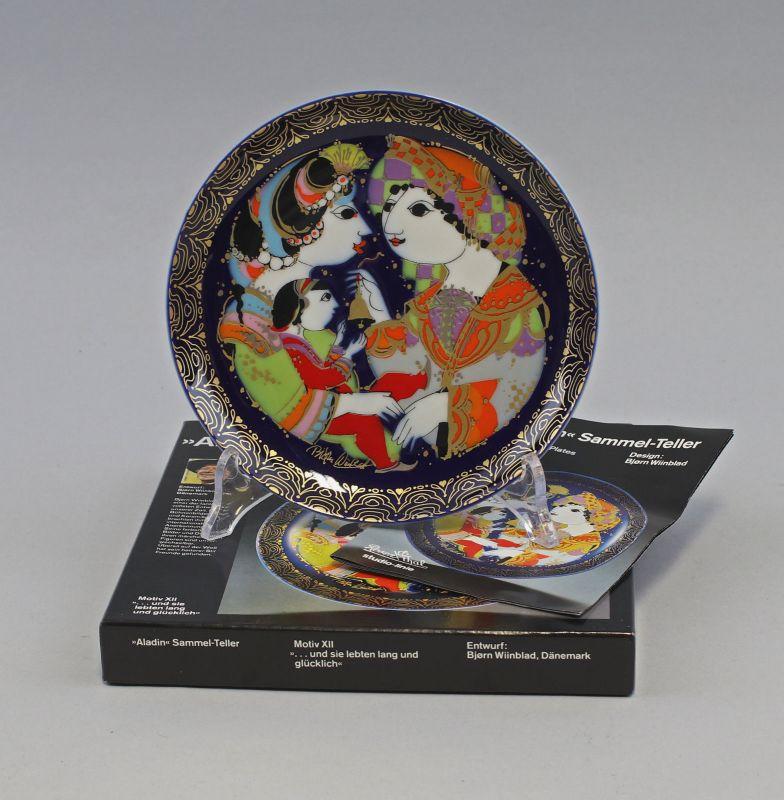 99840416 Aladin Sammelteller Wiinblad MotivXII Rosenthal D16cm