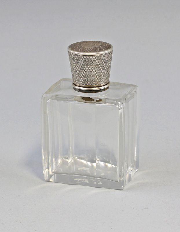 8230013 Flakon mit Silber-Montierung 950er Silber Frankreich D.W