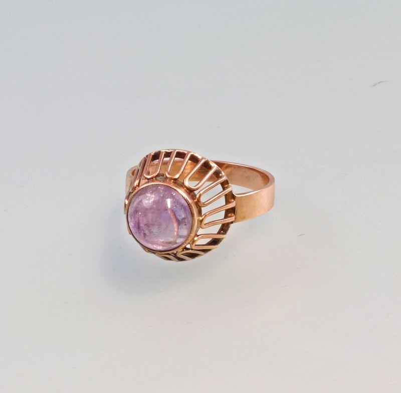 8225165 Amethyst-Ring 333er RG Gold Gr.59