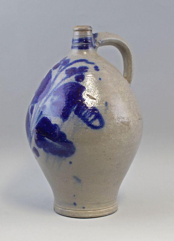 8245020 Keramik Westerwälder Vorrats-Flasche Salzglasur