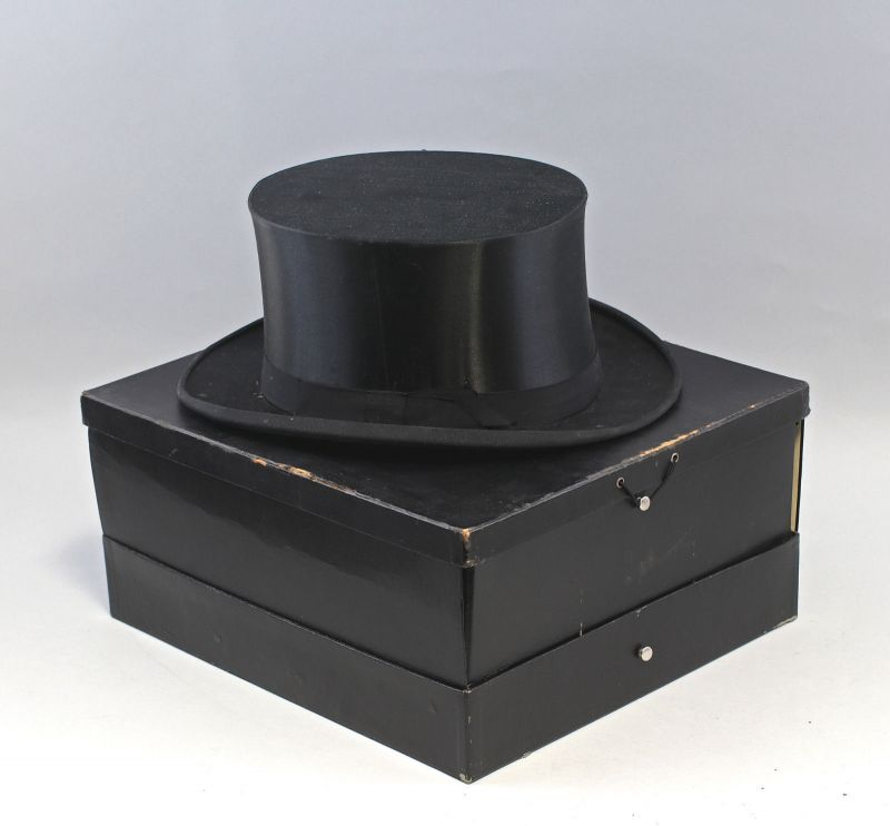 8215004 Chapeau Claque Gr.58 Herrenzylinder
