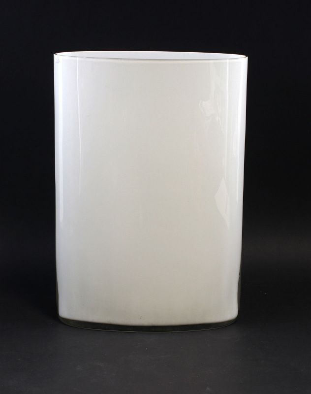 8235037 Glas Designer-Vase Entwurf Tapio Wirkkala für Venini Murano um 1971