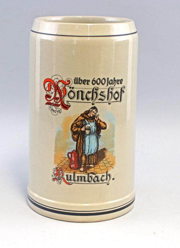 8248096 Riesiger Bierkrug Mönchshof Kulmbach 5 Liter