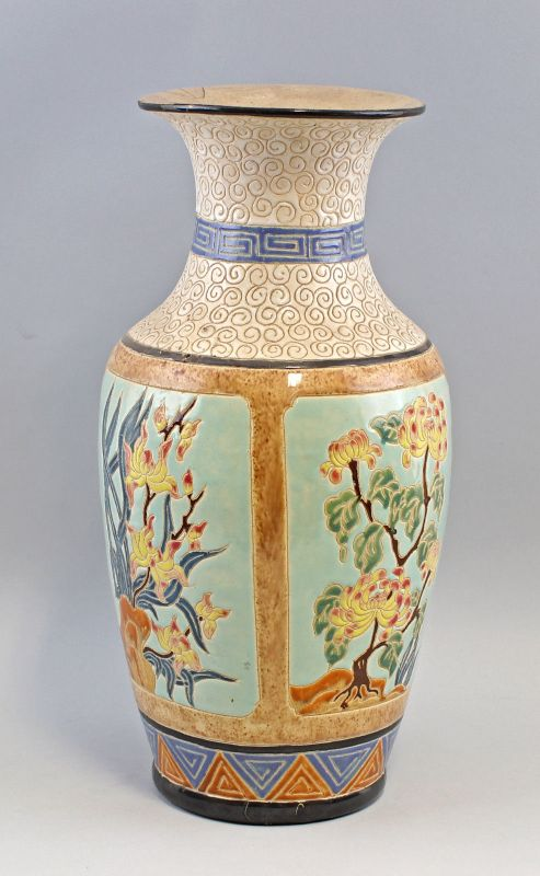 8239030 Boden-Vase Vietnam Keramik H48,5cm 1