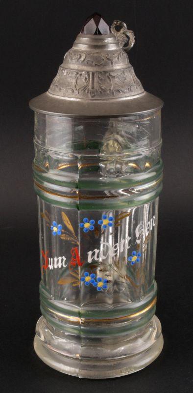 Glas Bierkrug