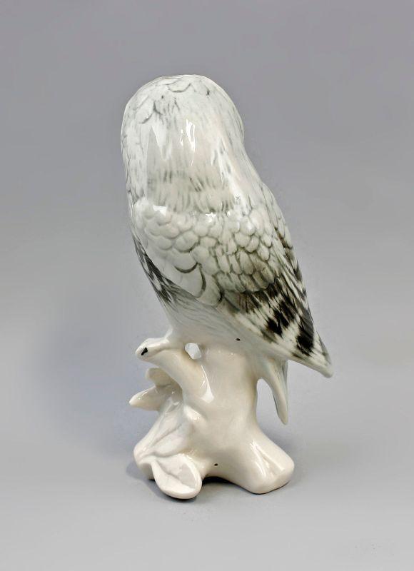 Porzellan Figur Schneeeule Eule Vogel Ens H16m 9941513# 2