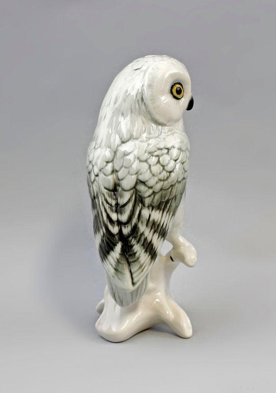 Porzellan Figur Schneeeule Eule Vogel Ens H16m 9941513# 3