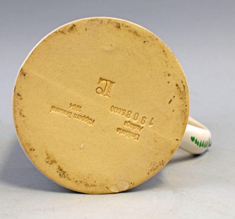 8248038 Fayence-Walzenkrug christliches Motiv Küppers Brauerei 1994 2