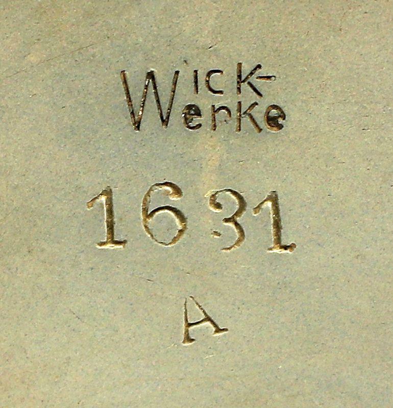99845502 Keramik Bowle Westerwald Jugendstil Wick-Werke Höhr 1
