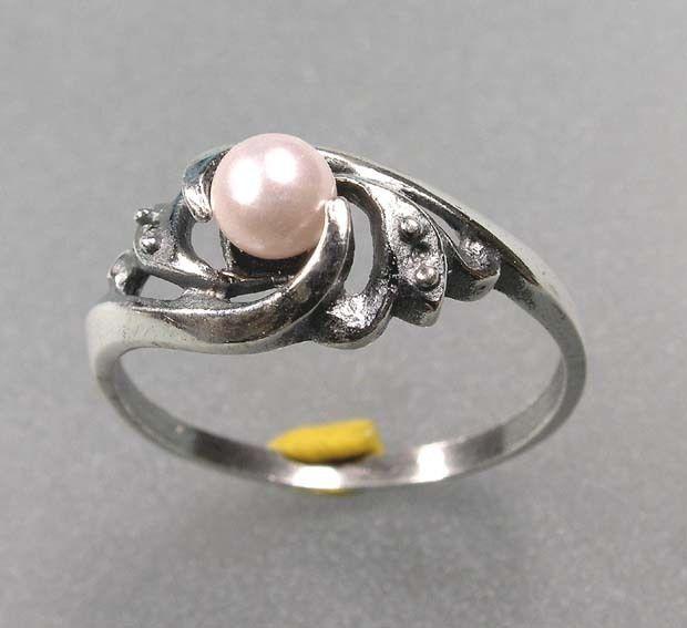 925er Silber Ring mit Zuchtperle 9901034
