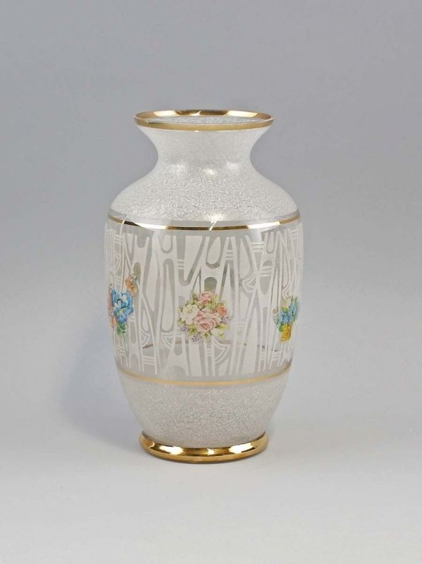 Vase 60er Jahre Goldstreifen 99835267