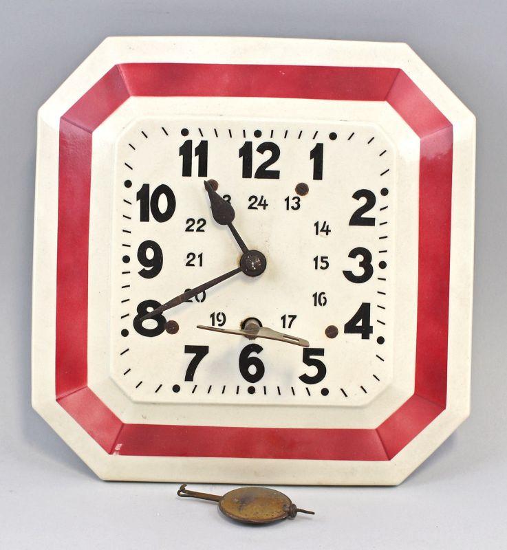 99820052 Küchenuhr um 1950 Keramik