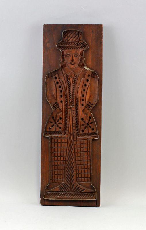 Alter Holz-Model Figurenmotiv 99880045