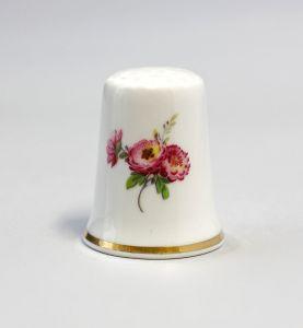 Kämmer Porzellan Fingerhut Blume Pfingstrose 2,5x2,6cm 9988216