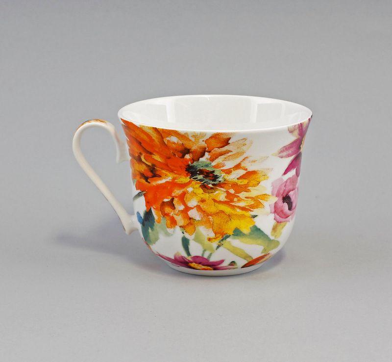 Porzellan Becher/Jumbo-Tasse Dekor