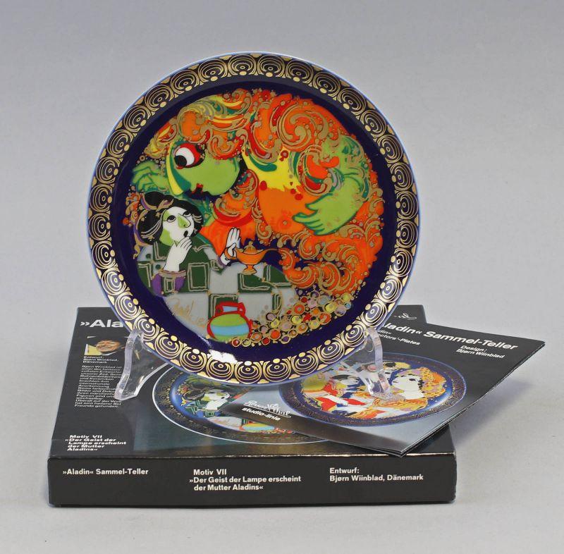99840220 Aladin Sammelteller Wiinblad Motiv VII Rosenthal D16cm