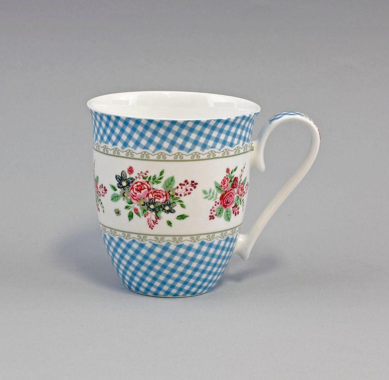 Porzellan Becher/Tasse Dekor