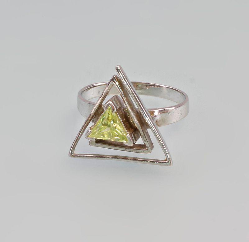 925er Silber Lemonquarz Ring 99825119