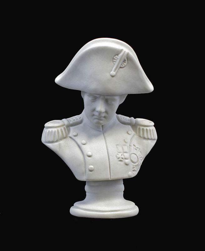 9944248 Porzellan Figur Büste Kämmer Napolen Bisquit H10cm