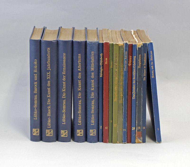 5 Kunst - Bände Lübke-Semrau und 11 Monographien 99855004