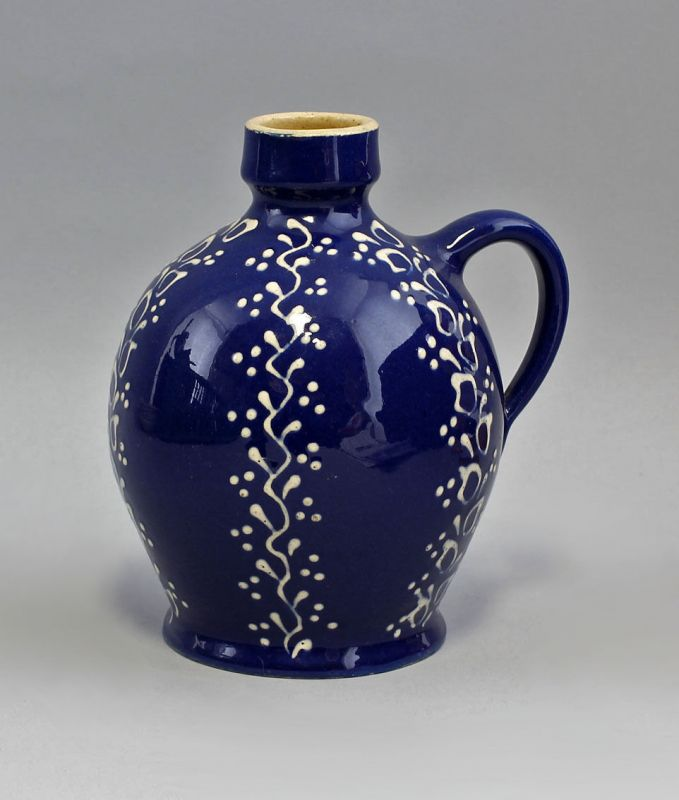 Keramik Schenk-Krug/Flasche  Bürgel Thüringen H17cm 99845432