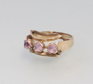 8325045 333er Gold Amethyst-Ring