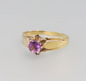 8325048 333er Gold Amethyst-Ring