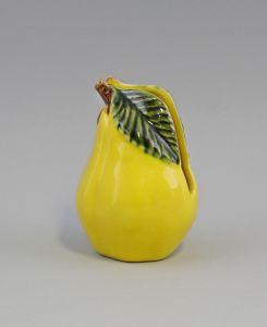 9918633 Keramik Majolika Portugal Servietten-Ständer Birne