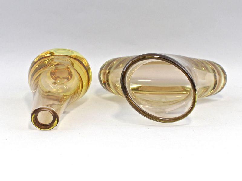 8335017 Zwei Glas Vasen Murano handbeschliffen 2