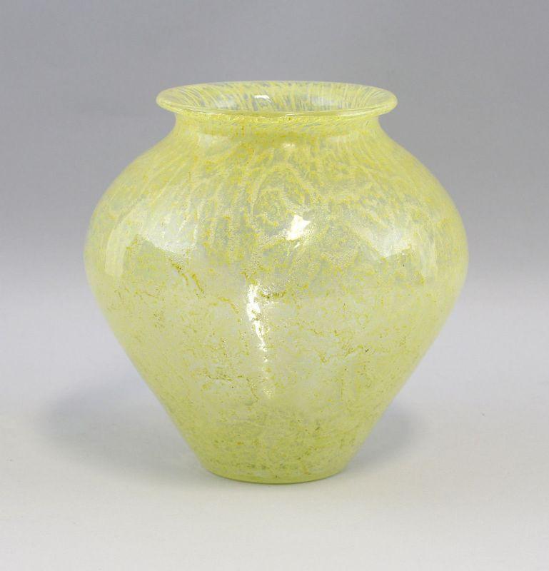 8335014 Glas Vase Art déco um 1930 Lötz Witwe Klostermühle Böhmen